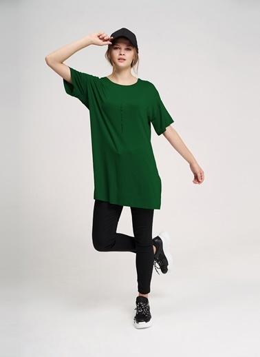 Mizalle Youth Tişört Yeşil